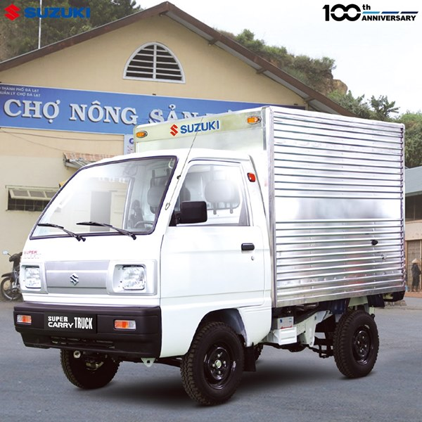 xe tải suzuki carry truck thùng kín