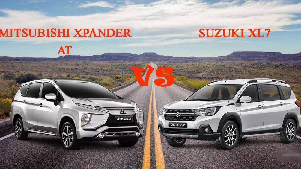 so sánh suzuki xl7 và mitsubishi xpander về trang bị và giá xe