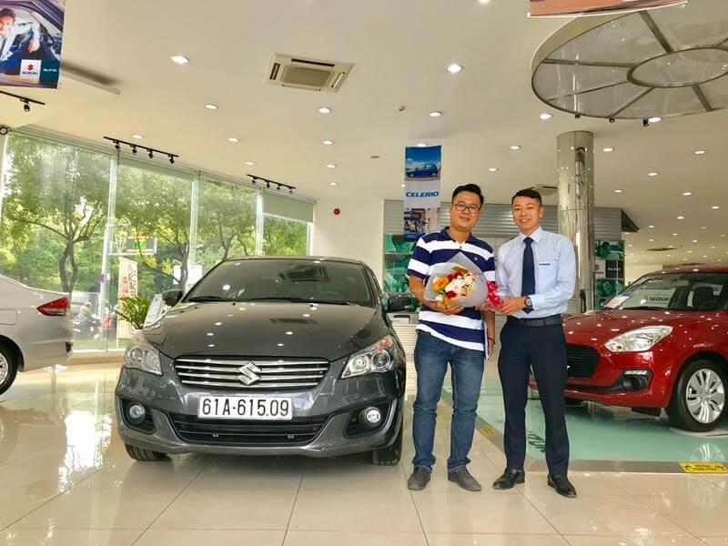 Suzuki Phổ Quang Giao Xe Ciaz