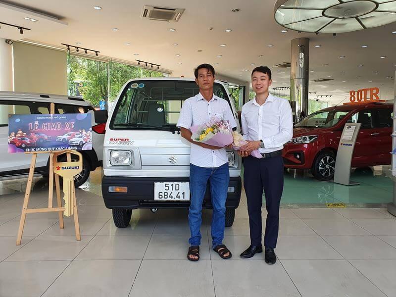 Suzuki Phổ Quang Giao Xe Van